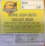 Hummingbird Chocolate Ginger Recall [US]