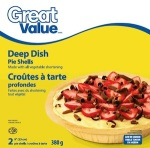 No Name, Great Value Pie & Tart Shell Recall [Canada]