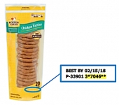 Foster Farms Chicken Patty Recall [US]