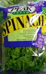 Peak and Harris Teeter Farmer's Market Fresh Spinach Recall [US]
