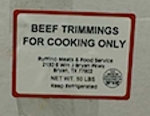 Ruffino Meats Beef Trimming Recall [US]