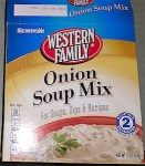 Western Family Onion Soup Mix Recall [US]