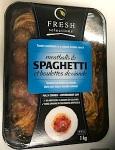 Fresh Selections brand Meatballs & Spaghetti Recall [Canada]