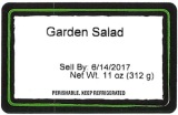 CC Kitchens Salad and Slaw Recall [US]