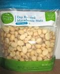 Simple Truth Dry Roasted Macadamia Nut Recall [US]