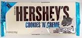 Hershey's Cookies 'n' Creme Chocolate Recall [Australia]