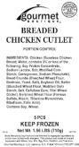 Gourmet Boutique Chicken Recall [US]