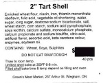 Pie Shells and Tart Shells Recall [Canada]
