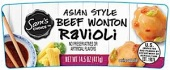 Sam's Choice Asian Style Beef Wonton Ravioli