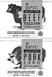 EPIC brand Duck Fat, Pork Lard and Beef Tallow Recall [US]