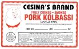 Cesina brand Pork Sausage Recall [US]