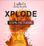 LaBri's Body Health brand Atomic and Xplode Dietary Supplements