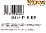 Fairway brand Cookies Blondie Recall [US]