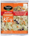 Taylor Farms Creamy Homestyle Coleslaw Kit Recall [US]