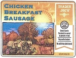 Trader Joe's Chicken Breakfast Sausage Recall [US]