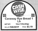 Coborn's American Rye and Caraway Bread