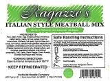 Ragazzo's Italian Style Meatball Recall [US]