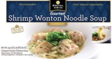 Royal Asia Shrimp Wonton Noodle Soup Recall [US]