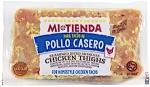 Mi Tienda Para Tacos De Pollo Casero Seasoned Diced Skinless Chicken Thighs
