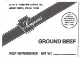 Thompson's Ground Beef Recall [US]