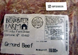 Bread & Butter Farm brand Ground Beef Recall [US]