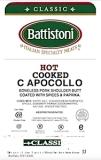 Battistoni Salami & Capocollo Recall [US]