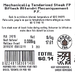 Food Basics Beef Steak Recall [Canada]