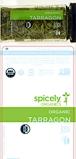 Spicely Organics Organic Tarragon Recall [US]