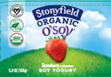 Stonyfield O'Soy Strawberry Yogurt Recall [US]