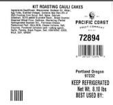 Pacific Coast Fruit Co. Vegetable Recall [US]