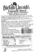 Seattle Gourmet Foods Dilettante Chocolates Espresso Bean Recall [US]