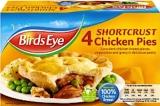Birds Eye Shortcrust Chicken Pie Recall [UK]