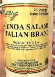 Marisa brand Genoa Salami Recall [US]