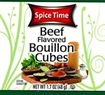 Spice Time Beef Bouillon Cube Recall [US]