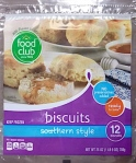 Food Lion, Lowes and Piggly Wiggly Biscuit Dough Recall [US]