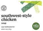 Whole Foods branded Chicken Salad Wrap Recall [US]