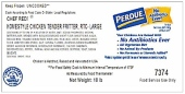 Chef Redi Chicken Tender Fritters Recall [US}
