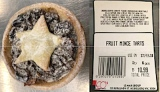 Le Rose Nominees brand Fruit Mince Tart Recall [Australia]