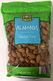 Southern Grove Unsalted Almond Recall [US]