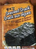Paldo Seaweed & Lotte Kancho Biscuit Recall [Canada]