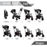 SmarTrike 700 Smartfold, 8-in-1 Folding Trike