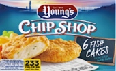 Young's Chip Shop Fish Cake Recall [UK]
