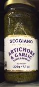 Seggiano Artichoke & Garlic Sauce & Spread Recall [US]