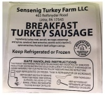 Sensenig Turkey & Chestnut Farms Turkey Sausage Recall [US]