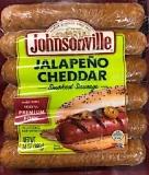 Johnsonville Jalapeño Cheddar Smoked Sausage Recall [US]