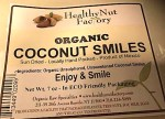 Healthy Nut Factory Organic Coconut Smile Recall [US]