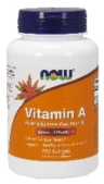 NOW Foods branded Vitamin A Recall [UK]