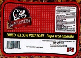La Marinera brand Dried Yellow Potato Recall [US]