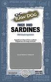 OC Raw Dog Freeze Dried Sardine Dog Treat Recall [US]