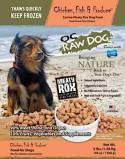 OC Raw Dog Chicken, Fish & Produce Dog Food Recall [US]